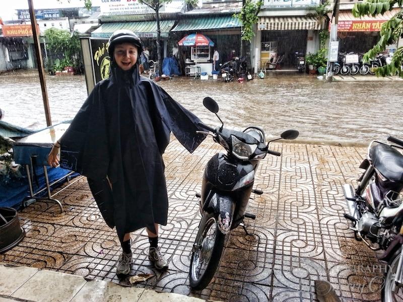 motorbike poncho vietnam