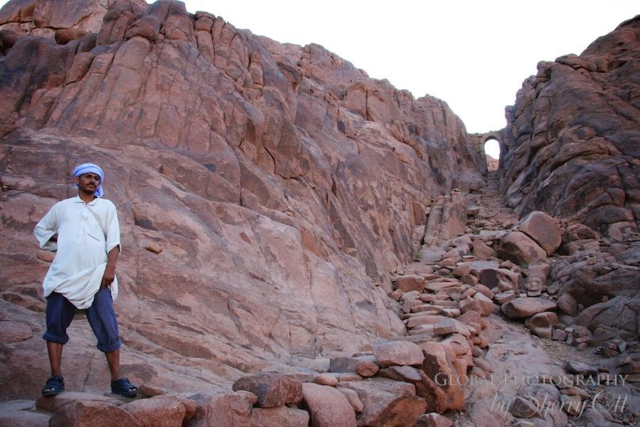 Mt. Sinai sunset trek