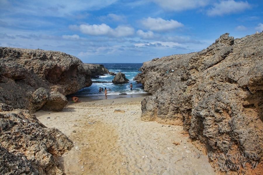 48 hours in aruba local beach