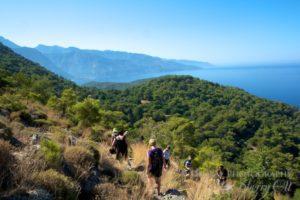 Lycian Way views