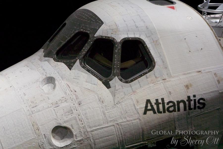 Atlantis exhibition kennedy space center Orlando