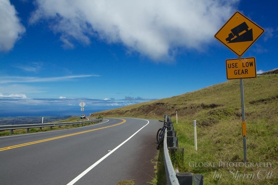 Haleakala biking maui adventiure