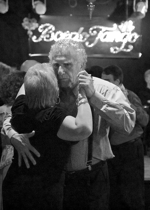 Doing the tango in Buenos Aires Argentina