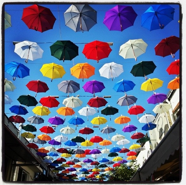 umbrellas turkey