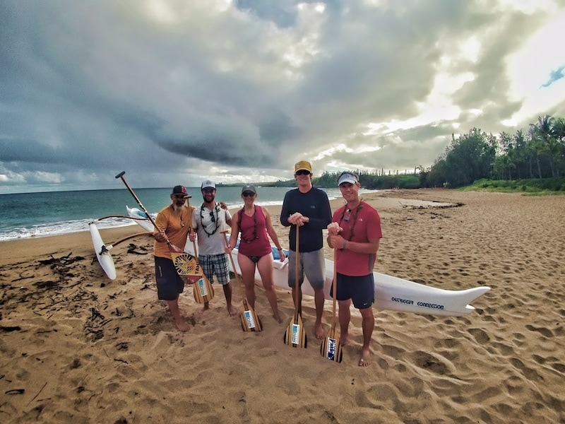 Hawaii Paddle Sports outrigger canoe tour