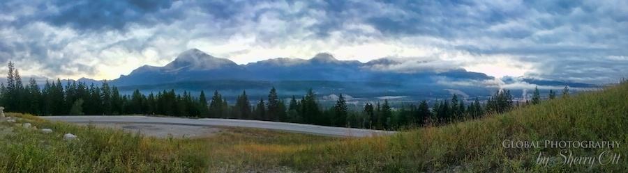 Golden BC mountains