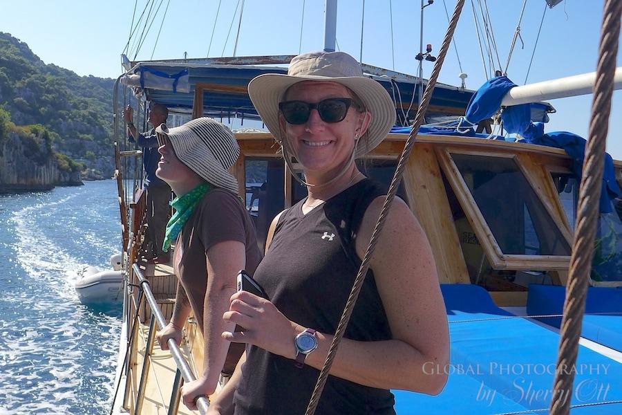 Lycian Way boat