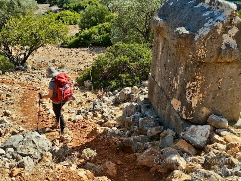 Lycian way ruins