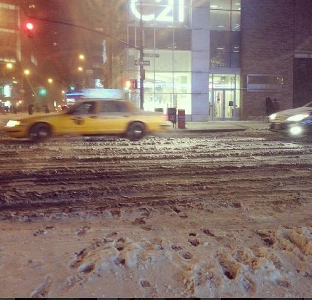snow storm nyc
