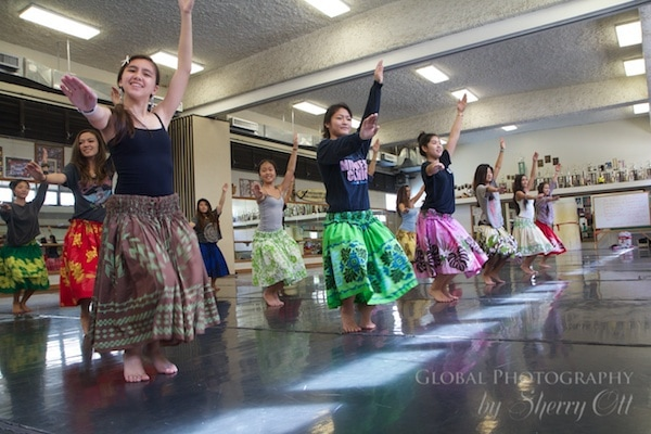 Hula Dance school
