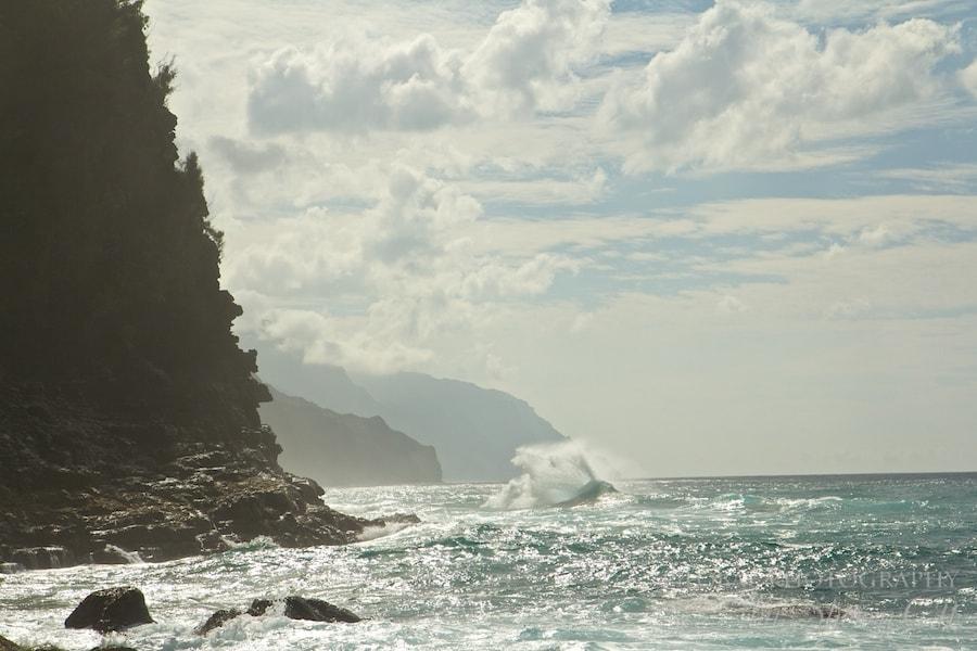 Napali Coast waves