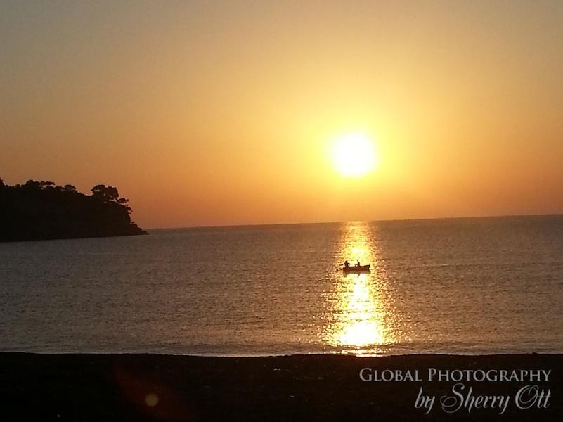 sunrise turkey mediterranean