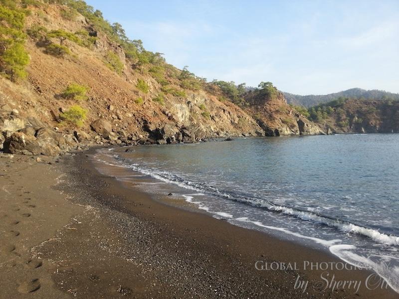 lycian way beach