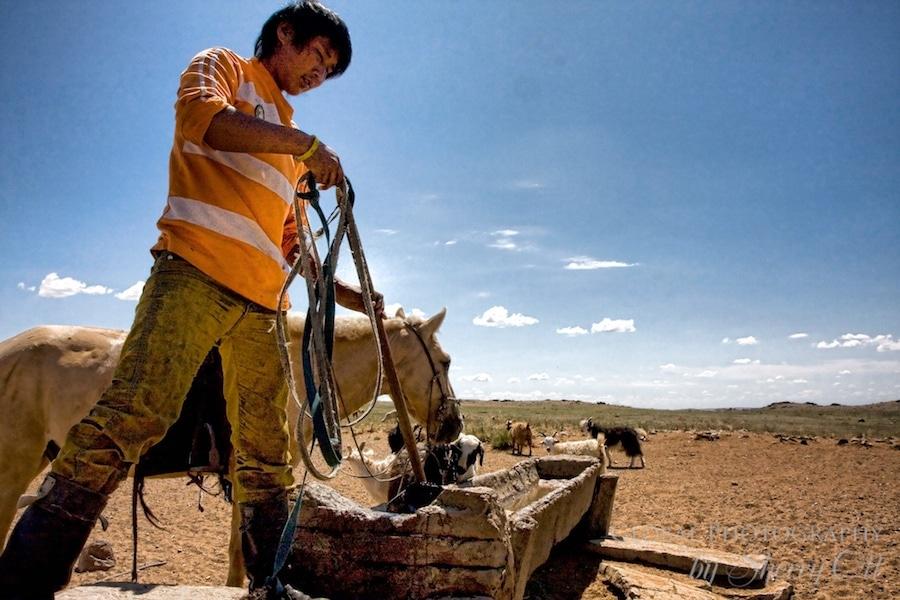 water gobi desert