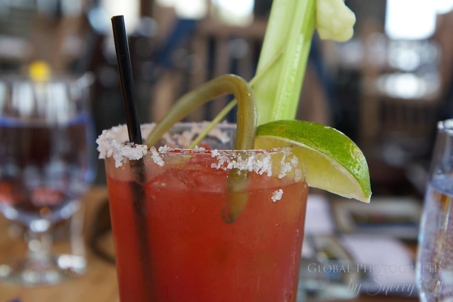Caesar drink Golden BC Canada