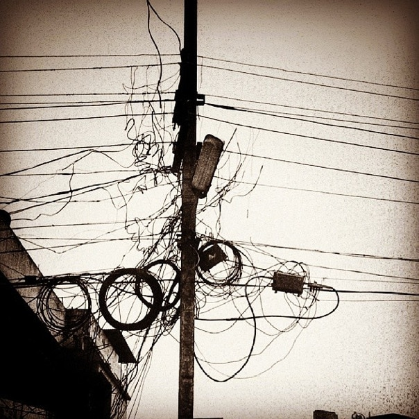 power lines India Instagram