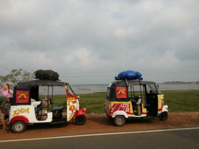 rickshaws take a rest
