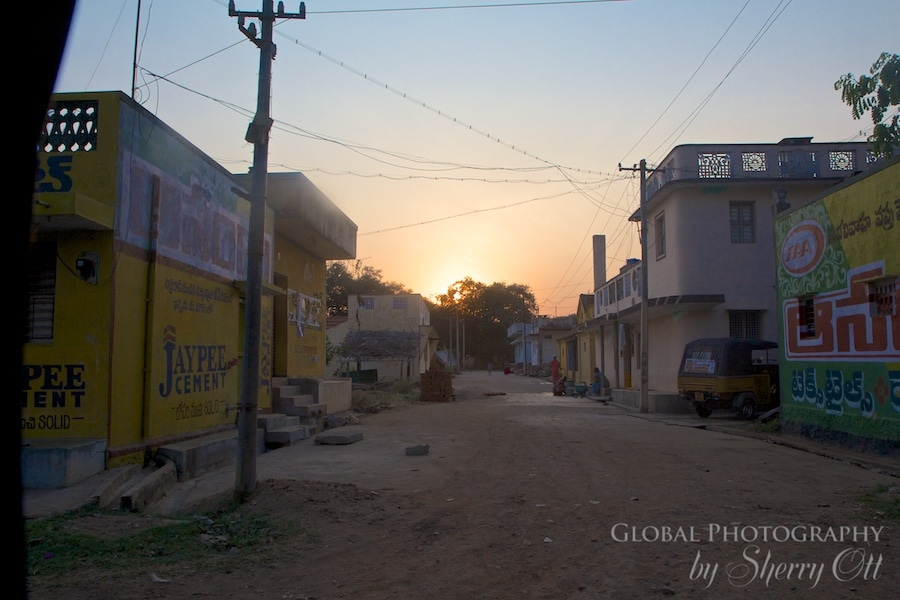 India morning