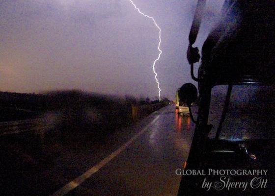Rickshaw lightening