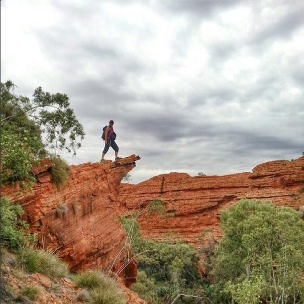 Kings Canyon Rim hike