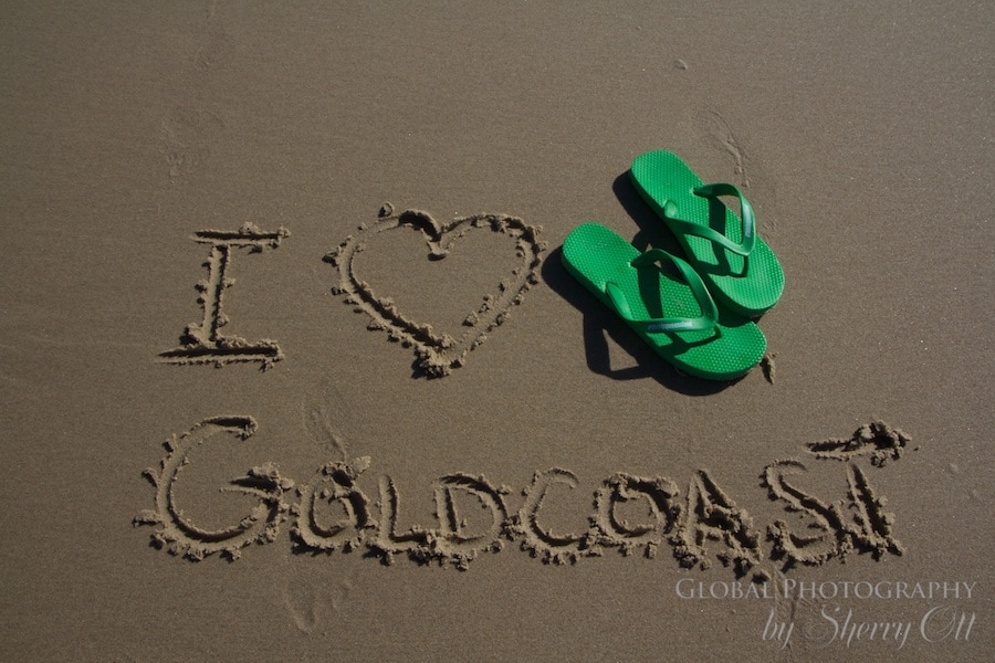 I heart gold coast