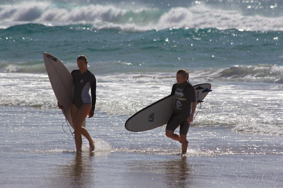 surfer girl gold coast