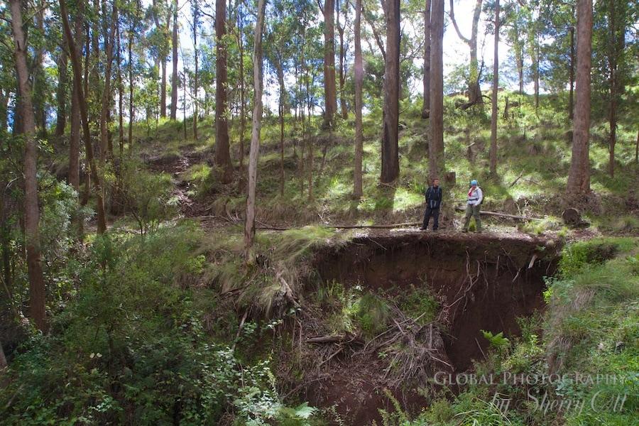 hiking Queensland