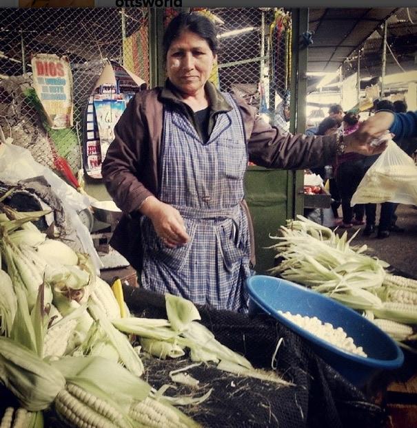 corn peru market
