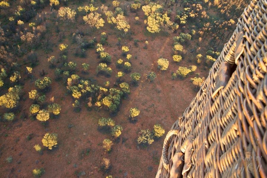 outback hot air balloon