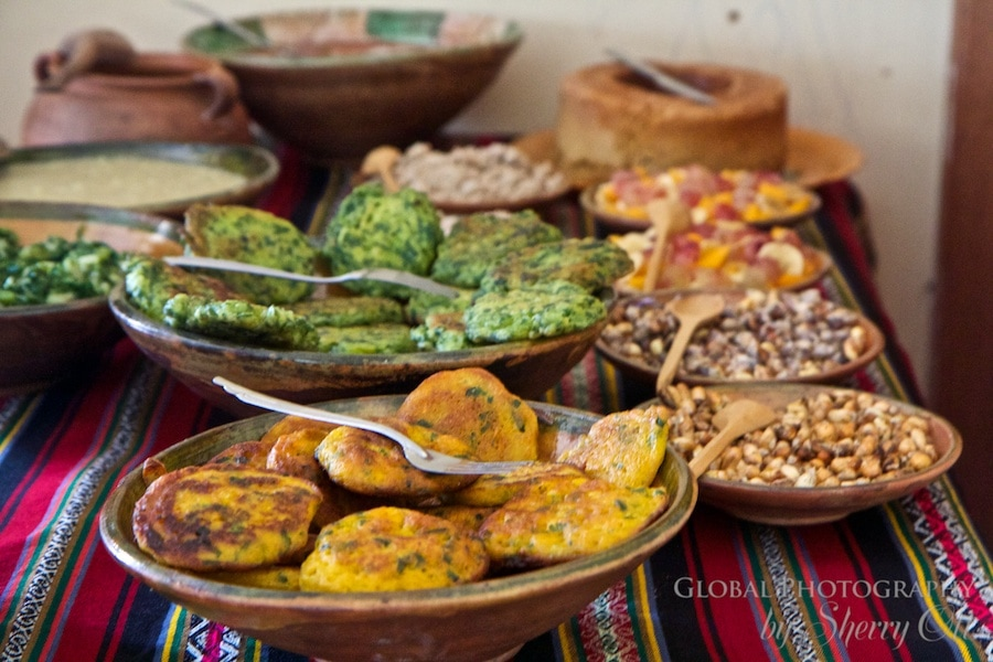 Sacred Valley food