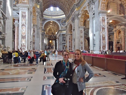Vatican with kids