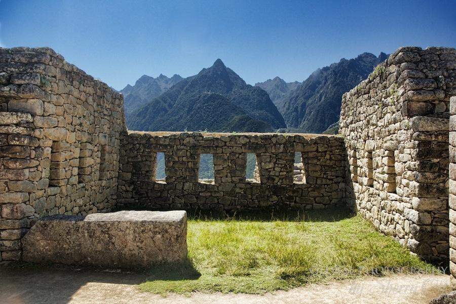 Machu Picchu windows
