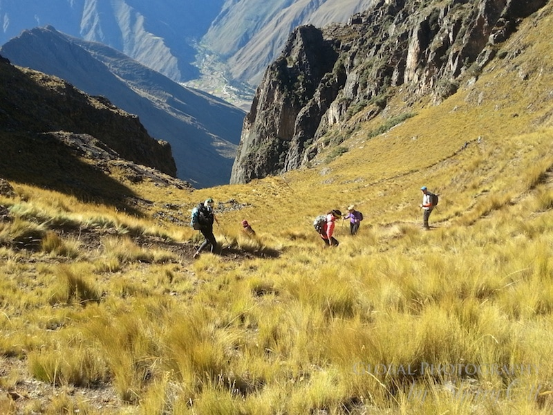 Descent Andes