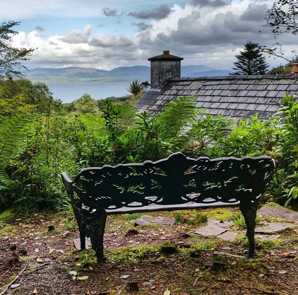 bench Kells gardens