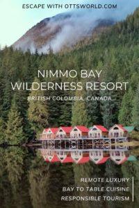 Nimmo Bay Resort BC Canada
