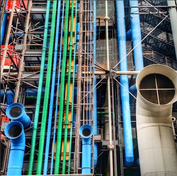 Pompidou Center Architecture