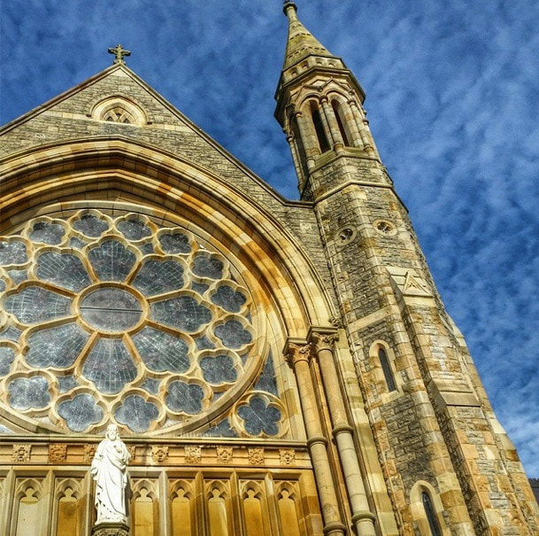 Clonard church Belfast Northern Ireland