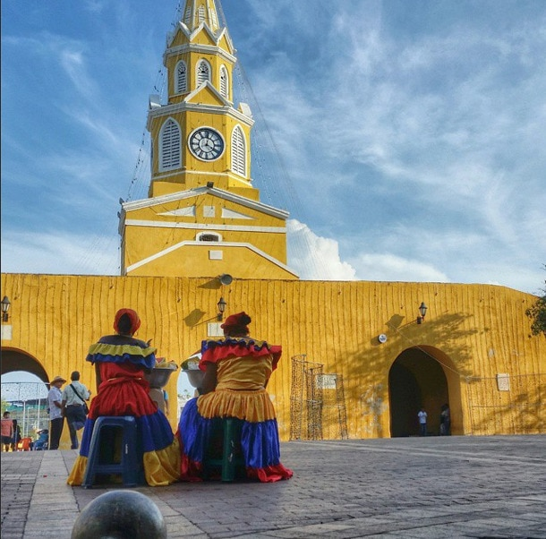 Palenquera women Cartagena