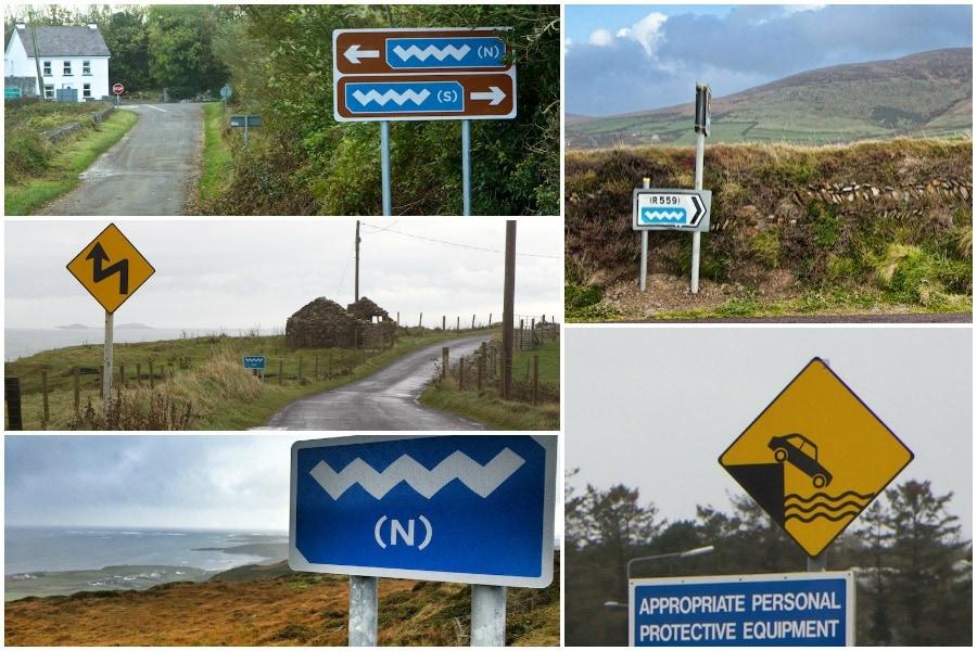 road signs ireland