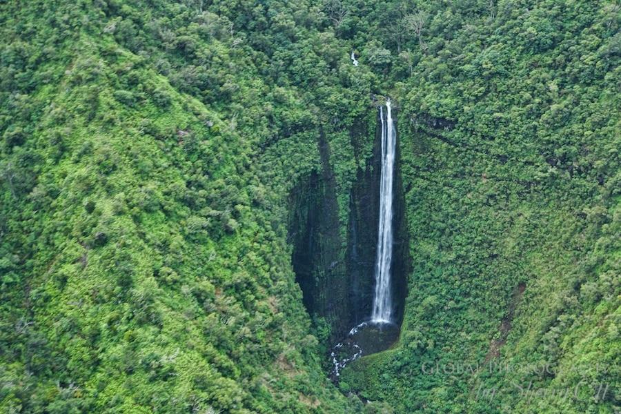 heart waterfall kauai