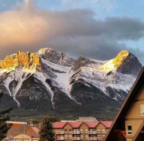 sunrise Canadian Rockies