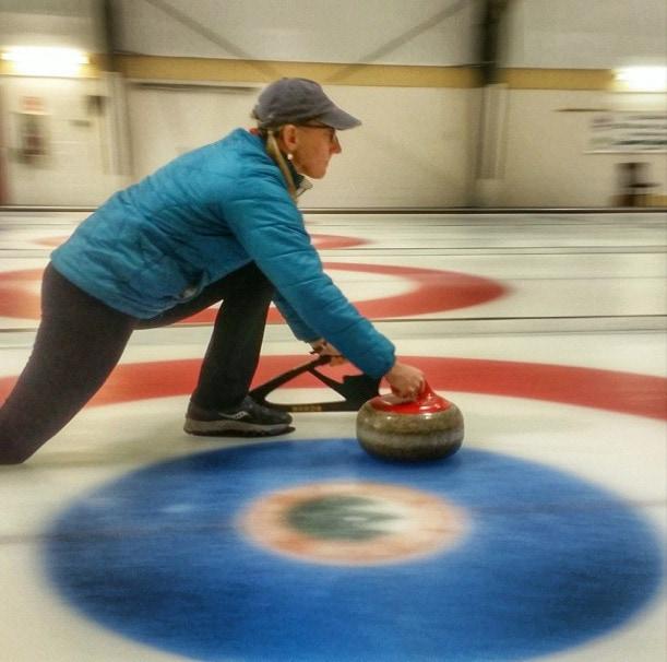 Curling Canmore Alberta