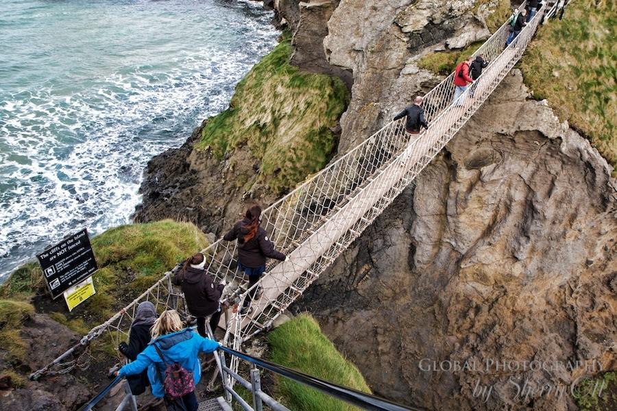 Carrick-a-Rede Rope Bridge Northern Ireland