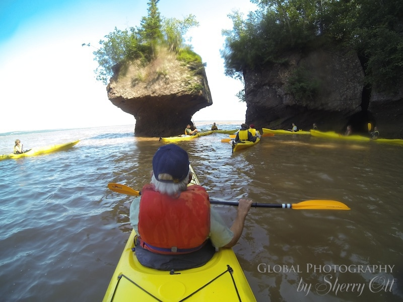Bay of Fundy Kayaking Hopewell Rocks