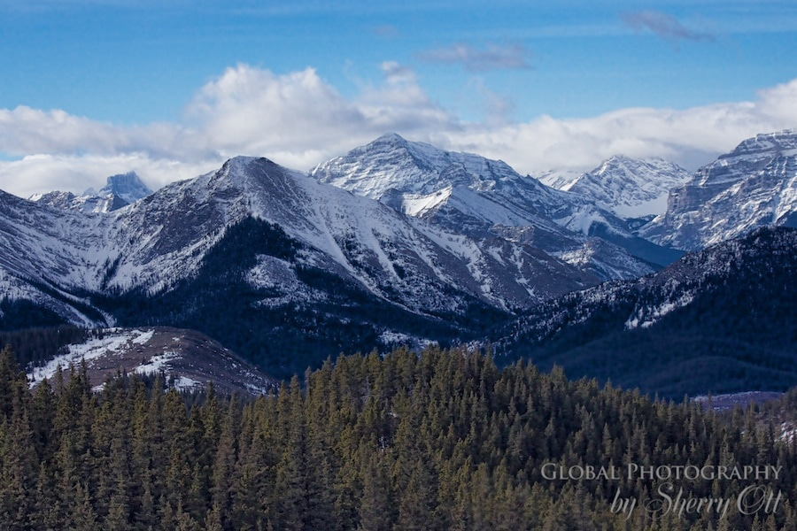 Canadian Rocky Mountains Top to Bottom