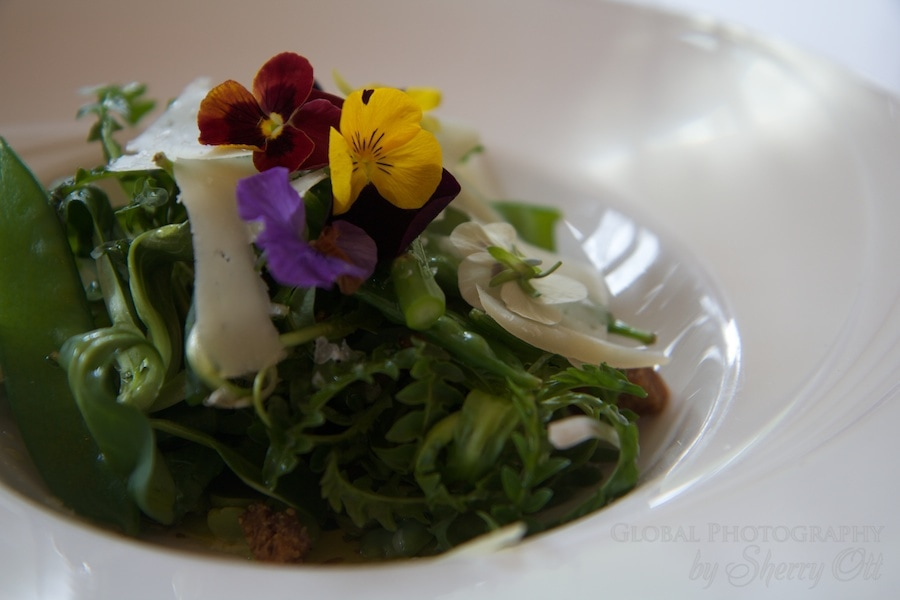 edible flowers spain