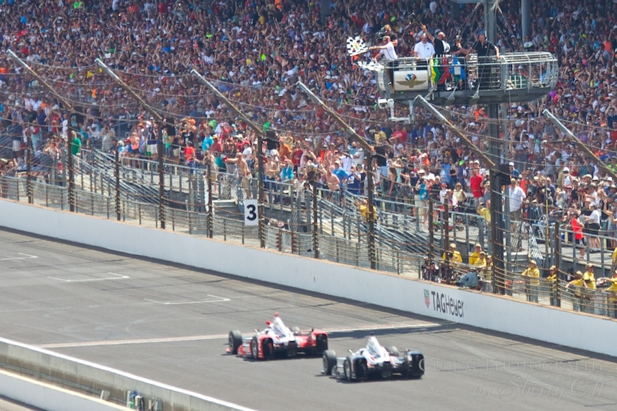 Checkered Flag Indy 500