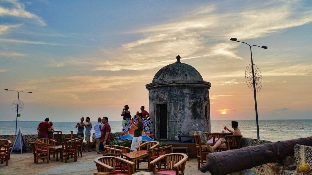 what to do in Cartagena sunset