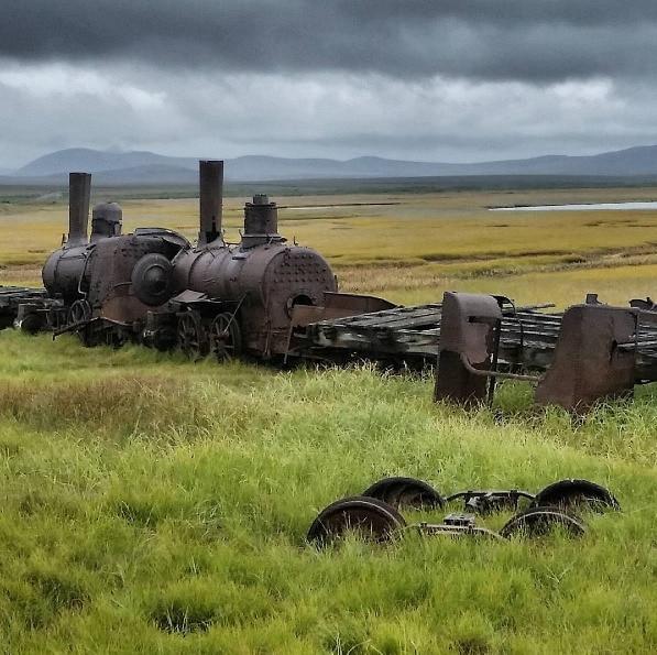 alaska train to nowhere