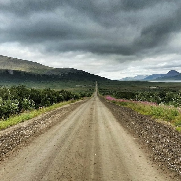 Alaska Nome road